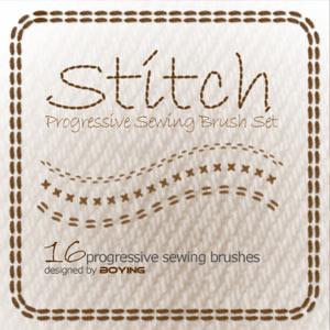 Stitch - Photoshop brushes