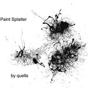 Paint splatter - Photoshop brushes