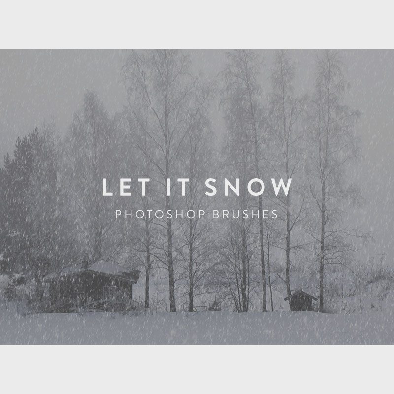 how to add snow overlay in photoshop
