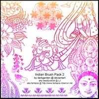 Indian Brush Pack 2
