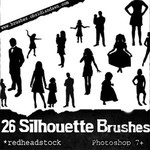 Silhouettes Brushes