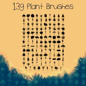 139 Plant Brushes