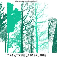 PS Brushes Trees