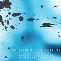 Splatter Brush Pack