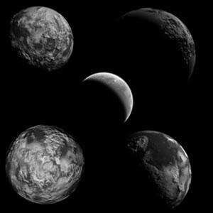 Photoshop brushes planets