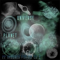 Planet Universe Brushes