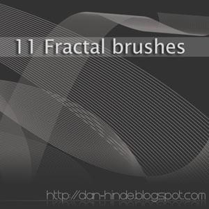 Photoshop brushes fractals