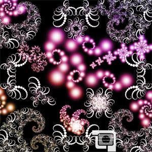 Photoshop brushes swirls, fractal