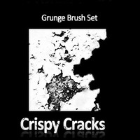 Crispy Cracks Grunge Brush Set