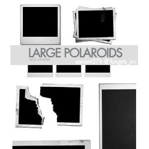 Photoshop brushes polaroid