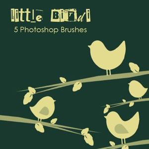 Photoshop brushes bird