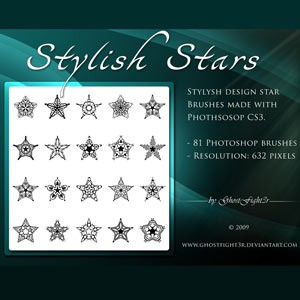 Photoshop brushes star