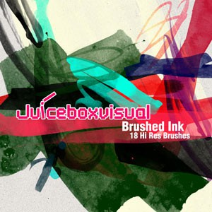 Photoshop brushes paint ink