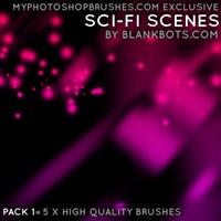 Sci-Fi Scenes Pack 1