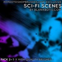 Sci-Fi Scenes Pack 2