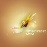 Fortune Abstract Brushes