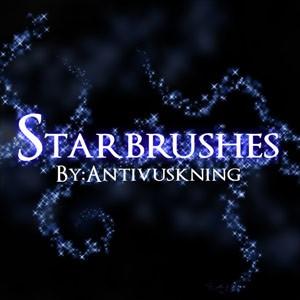 Photoshop brushes star