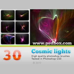 Photoshop brushes lights