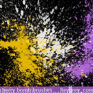 Cherry Bomb Brushes
