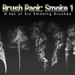 Six Smoke Brushes