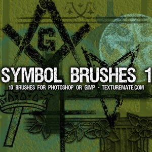 Photoshop brushes symbols
