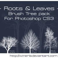 Tree Brushes Pack