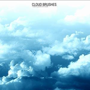 Photoshop brushes cloud,sky