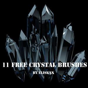 Photoshop brushes crystal