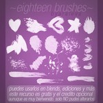 Eighteen Brushes