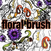 Floral Brush