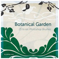 Botanical Garden Free Photoshop Brushes