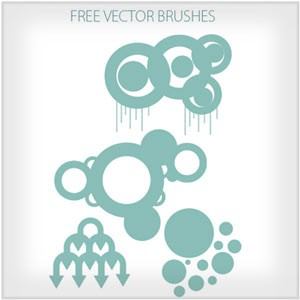 Photoshop brushes vector, abstract, shapes