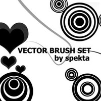 Vector Brush Set