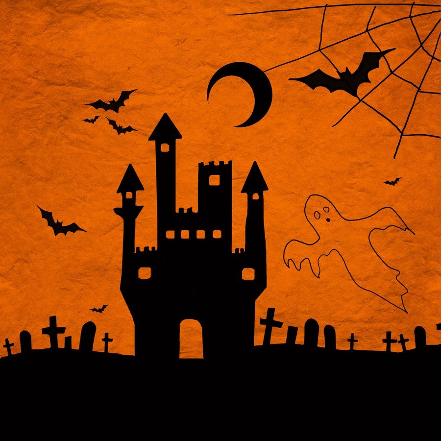 Photoshop brushes bat, halloween, grave