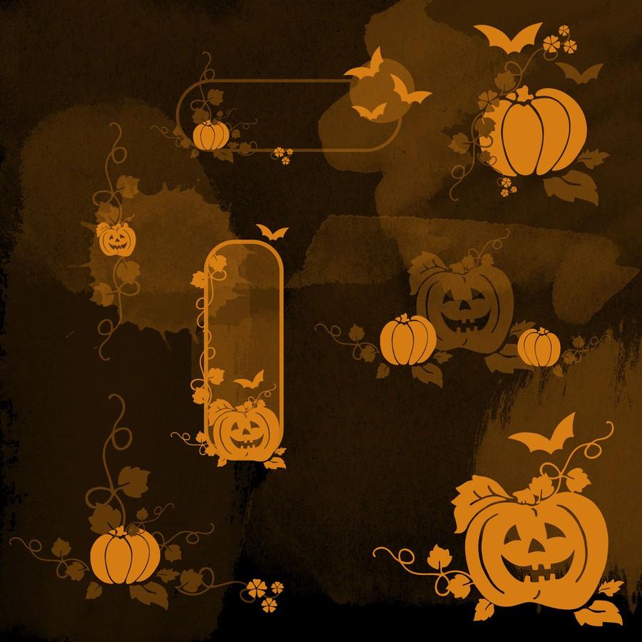 Photoshop brushes halloween, pumpkin