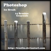 Ice Brush for Photoshop