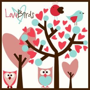 Photoshop brushes bird,cartoon, owl, heart