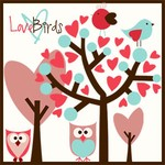 Love Birds Brushes