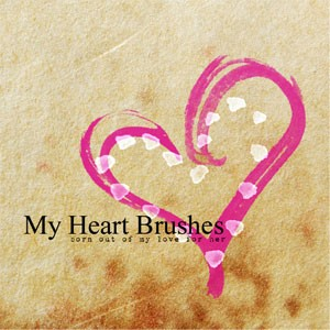 Heart Photoshop Brush