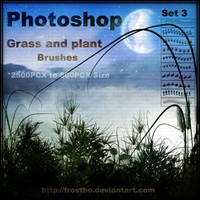 Grass and Plant Brushes