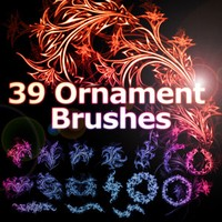 39 Free Ornament Brushes