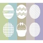 Easter Brushes Set