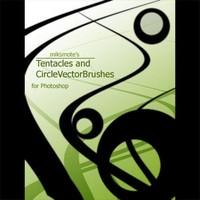 Tentacles and Circle Vector