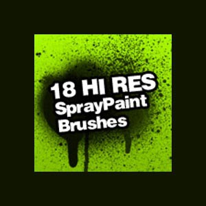 Photoshop brushes splatters