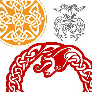 Photoshop brushes celtic ornaments