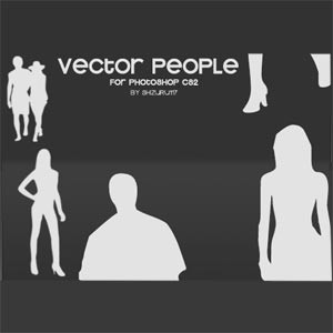 Vector People Brushes