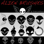 Aliens Brushes