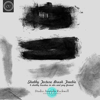 Shabby Texture Brush Set