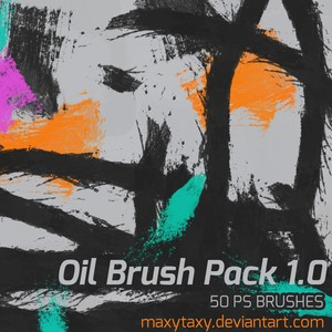 Oil Brush Pack 1 0 - Photoshop brushes