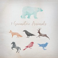 7 Geometric Animals